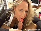 long sexy blowjob messy facial