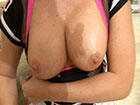 showing off my big titties desirae spencer naughtyathome.com