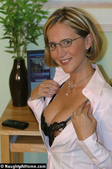 Slutty wife with glasses