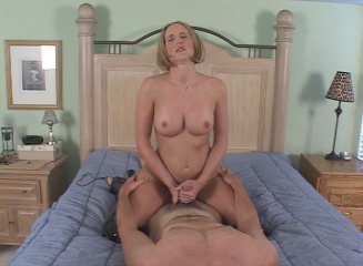 Busty Blonde Whore Wife Taking it Hard From Behind from Naughty At Home