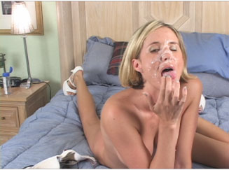 Sexy Blonde Wife Moaning and Fucking Hard from Naughty At Home