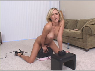 Sexy Blonde Wife Rides the Sybian from Naughty At Home