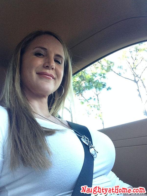 titty shot in car desirae spencer